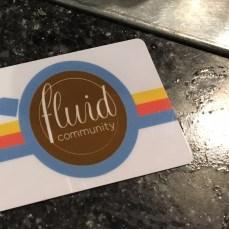 Fluid Community Card