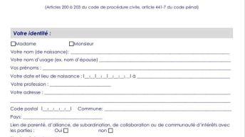 attestation 202 tuto
