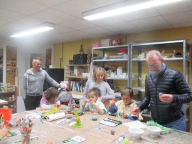 Finalement, l'activité d'oeuf peint n'est pas que pour les enfants :)