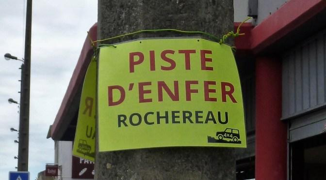 Affichage sauvage d'affiches jaunes !