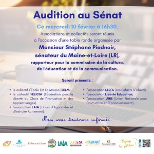 AUDITION SÉNAT