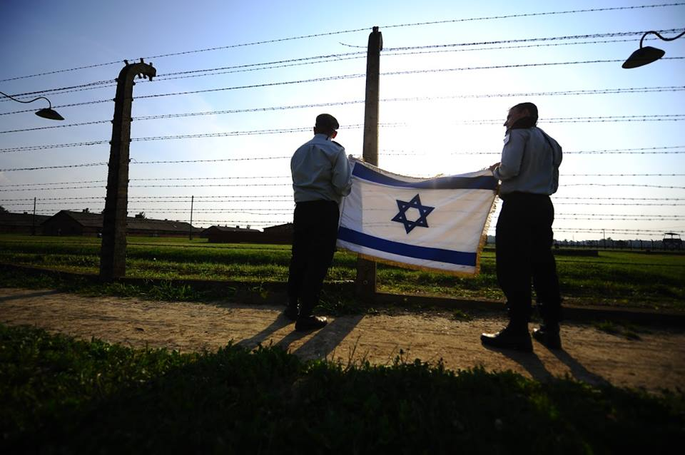 IDF in Auschwitz