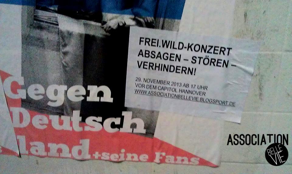 Anti-Frei.Wild-Plakate