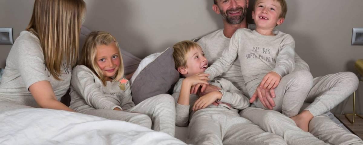 Dooderm, une marque de vêtement de nuit qui apaise les peaux atopiques