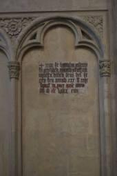 Inscription funéraire (1389) - Basilique Saint-Michel