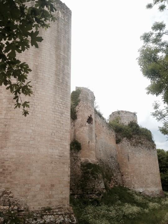 Château du Coudray-Salbart, Tours en amande