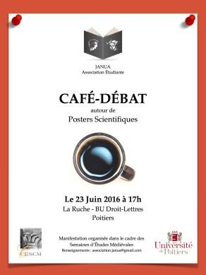 Affiche Café-Débat - SEM