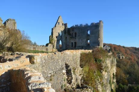 Vestiges de la forteresse d'Angles