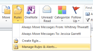 manage rules