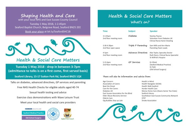 health and social care matters schedule