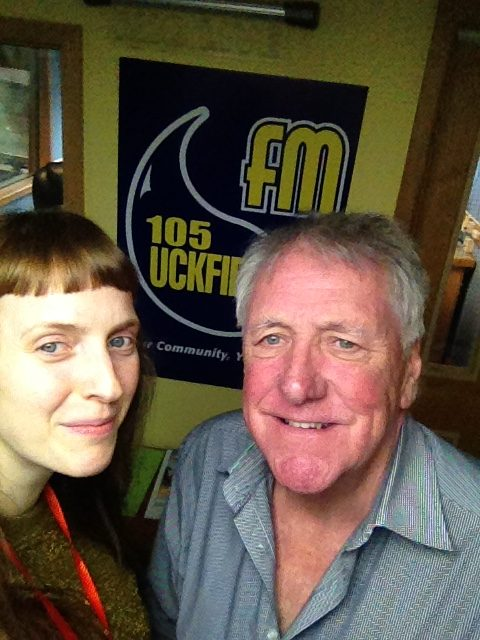 Jane with Jon at Uckfield FM