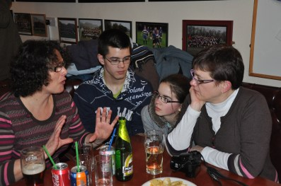 Tillicoultry rugby club : on s'entraine en anglais !