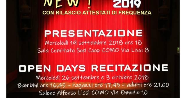 TeatriAMO! Corsi 2018/2019