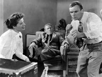 Mademoiselle gagne tout Pat and Mike 1952 rŽal : George Cukor Katharine Hepburn Spencer Tracy Aldo Ray Collection Christophel