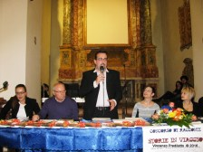Da sx: Martina Coppari -Assessore alla Cultura-, Elvio Angeletti, Lorenzo Spurio, Gioia Casale, Alessandra Montali