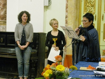 Francesca Bottarelli, vincitrice del 3° Premio