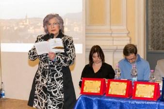 Lap poetessa Elisabetta Freddi legge la sua poesia risultata menzionata