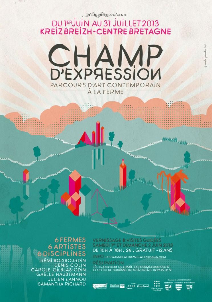 Affiche Champ d'Expression 2013