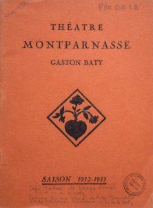 Fonds Gaston Baty