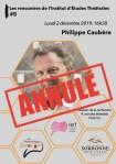 Les rencontres de l'IET #5 : Philippe Caubère