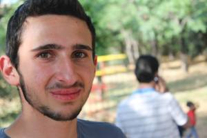 Majd - refugee and volunteer