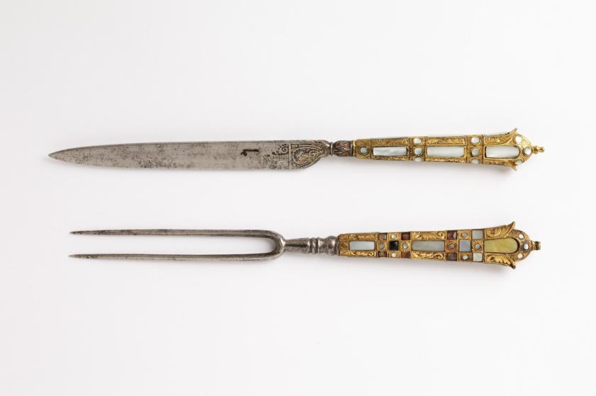 French cutlery from the XVII century - ©-Victoria and Albert Museum, London