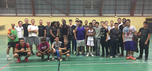 Match prof / élèves Basketball