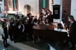 The Saint Bridget Parish Children's Choir.