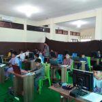 Suasana Tes Seleksi Penerimaan Peserta Didik Baru (PPDB) SDIT, MTs dan MA Assunnah Cirebon