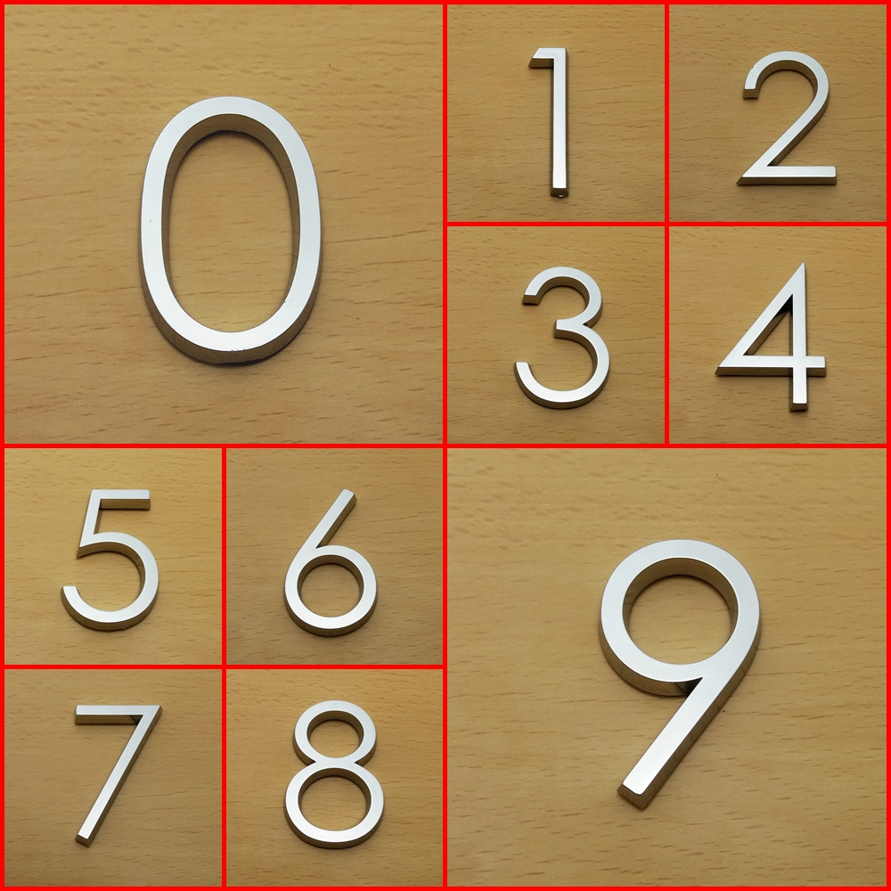 Numbers 3D HAG 5cm