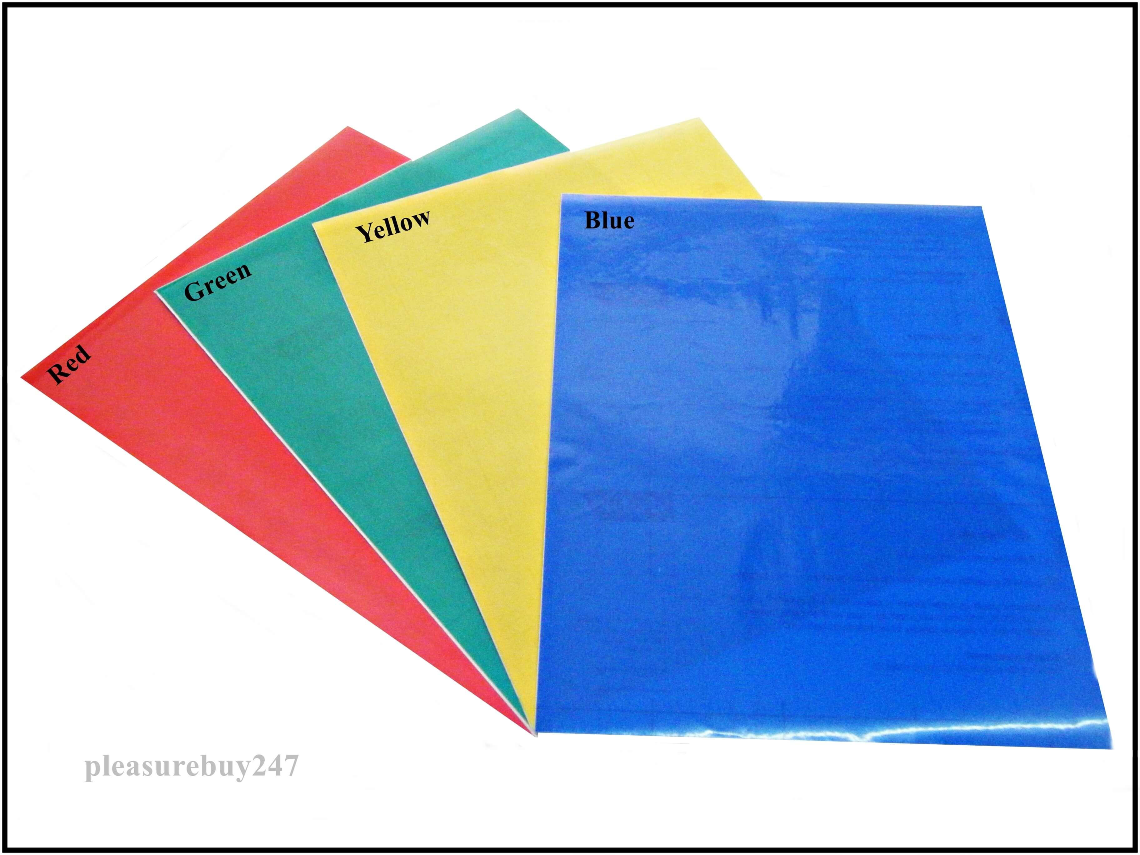DC Fix Self Adhesive A3 Vinyl Colored Transparent Sheet – AS Supplies
