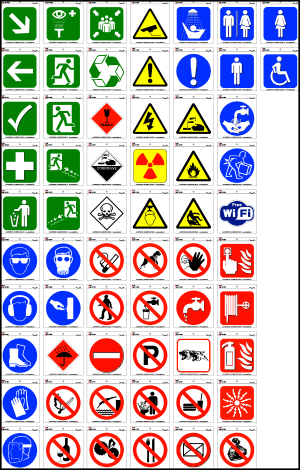 Health & Safety stickers