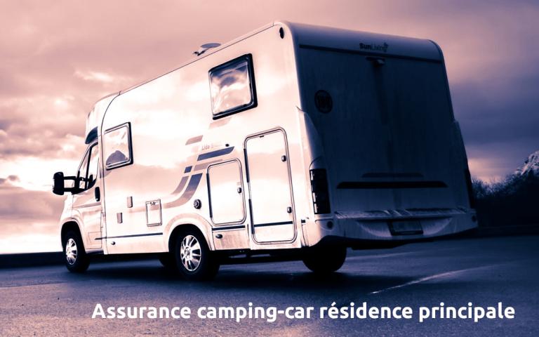assurance camping car residence principale