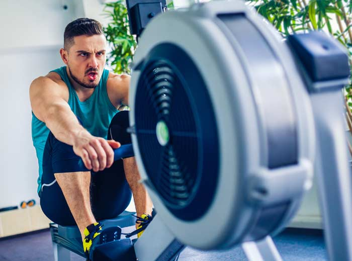 Can I do Max-OT Cardio on a rowing machine?