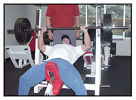 Jeff Willet Max-OT incline bench press