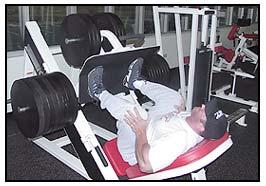 Jeff Willet Max-OT leg press