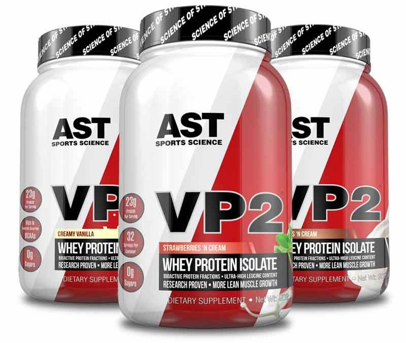 VP2 Whey Isolate Speeds Recovery of Strength after Exercise-Induced Muscle Damage