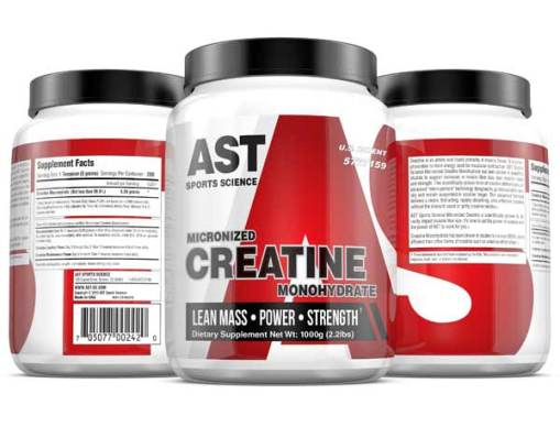 Micronized Creatine 1000 - Best Muscle-Building Creatine - 3-Up