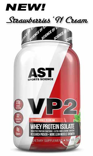VP2 Strawberries and Cream Best Whey Protein