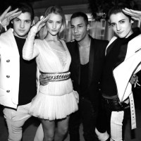 Balmain's aftershow party at the Bristol