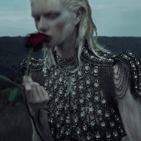 Alyona Subbotina for Vogue Italia's Talent Shooting 2013