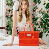 Cara Delevingne for Mulberry Spring/Summer 2014 Campaign