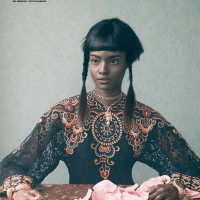 Malaika Firth and Lera Tribel for Vogue Italia March 2014