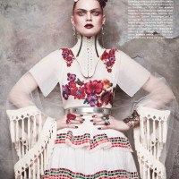 Guinevere Van Seenus by Daniele & Iango for Vogue Germany June 2014