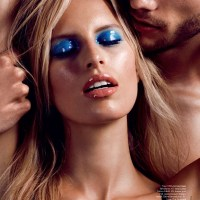 Karolina Kurkova by Nicolas Moore for Allure Russia June 2014