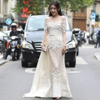 Street Style at the Couture Shows in Paris ( part 3 )