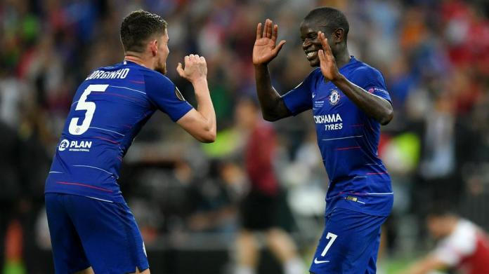 Jorginho and Kante are rumored to be on their way out