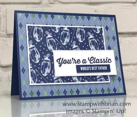 Classic-Garage-Itty-Bitty-Greetings-Country-Club-Designer-Series-Paper-Stampin-Up-Brian-King
