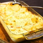 Lätt potatisgratäng