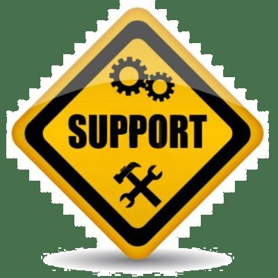 Trött support eller?